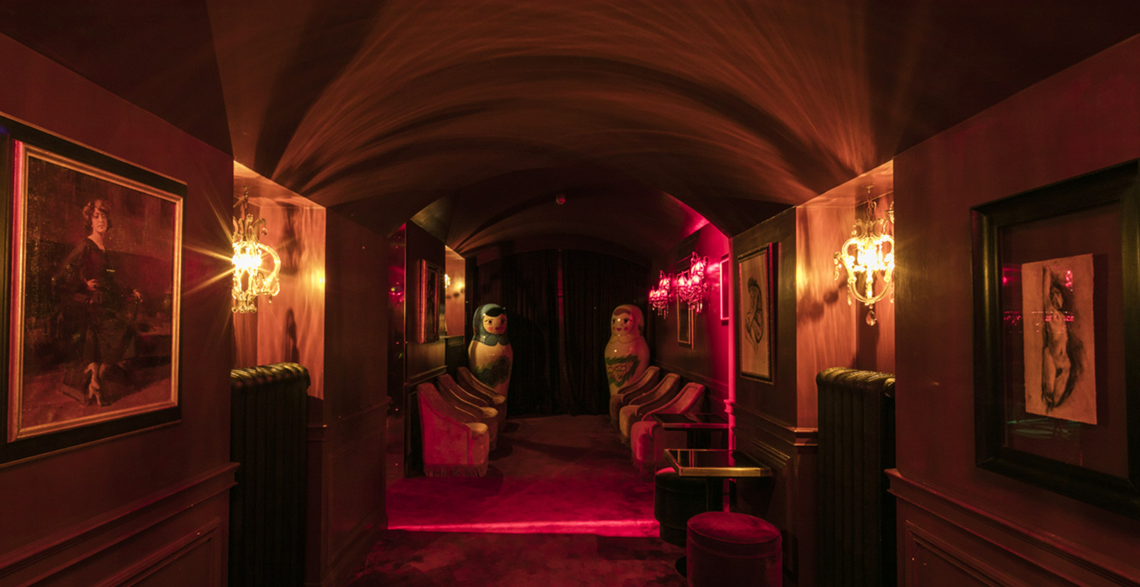 Have Fun At The Raspoutine Club In Rome At Palazzo Dama